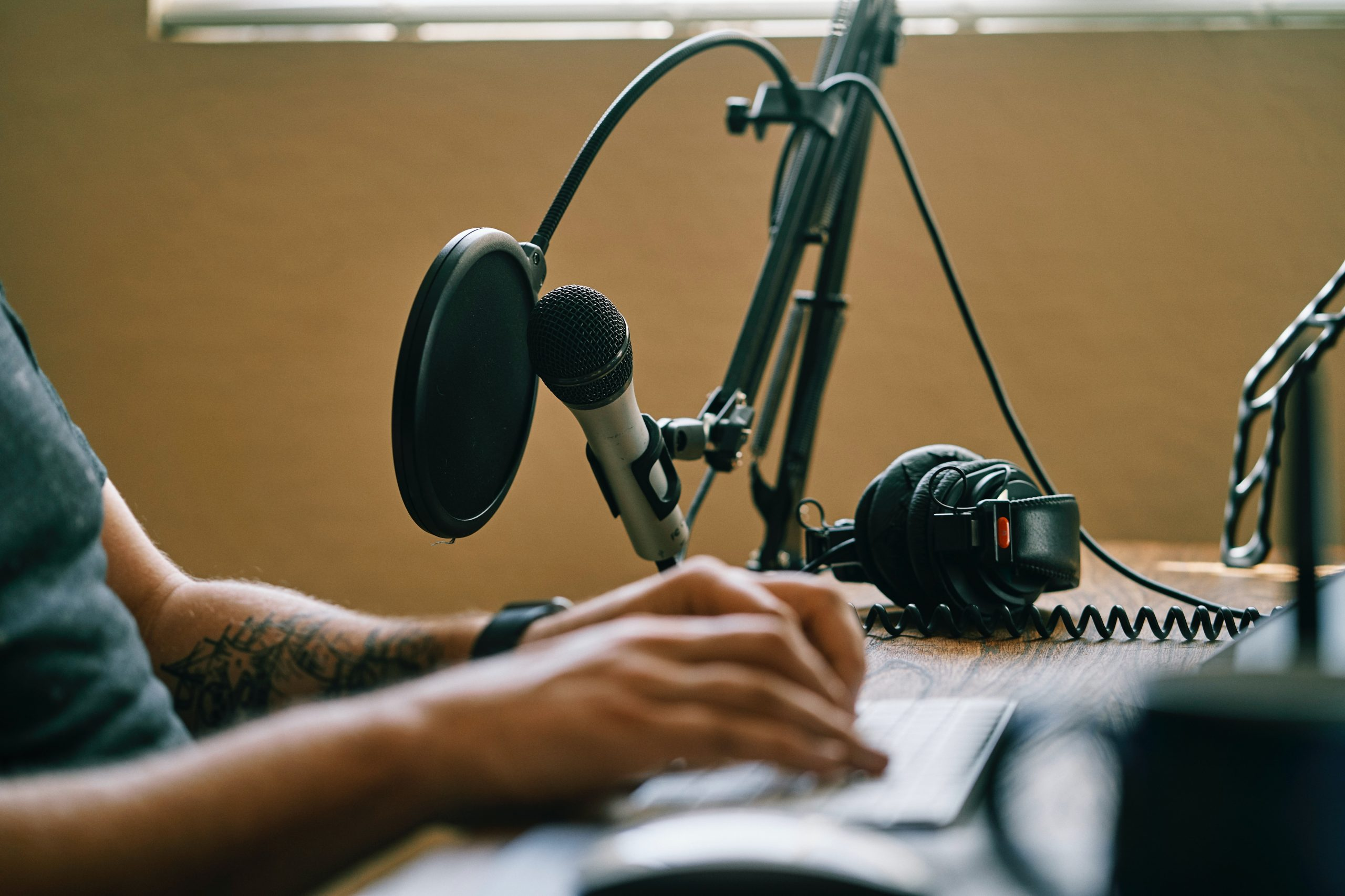 Podcasting Microphone 2